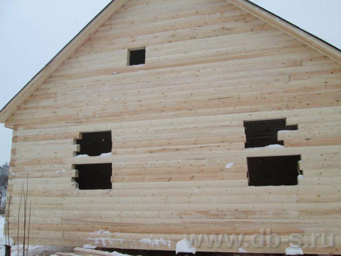 Строительство сруба дома с мансардой 9 на 7.5 Волхов, Ленинградская область фото 2