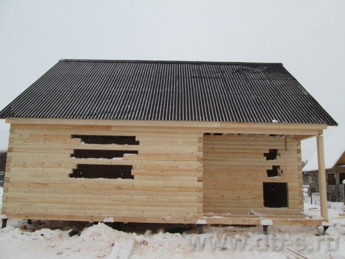 Строительство сруба дома с мансардой 9 на 7.5 Волхов, Ленинградская область фото 3