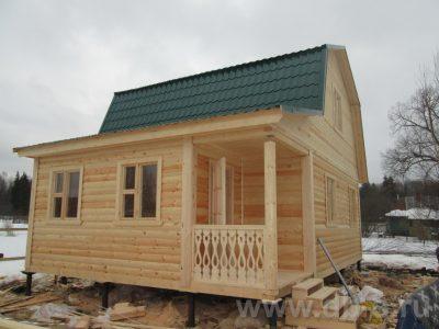 Строительство дома 6х8 г. Талдом
