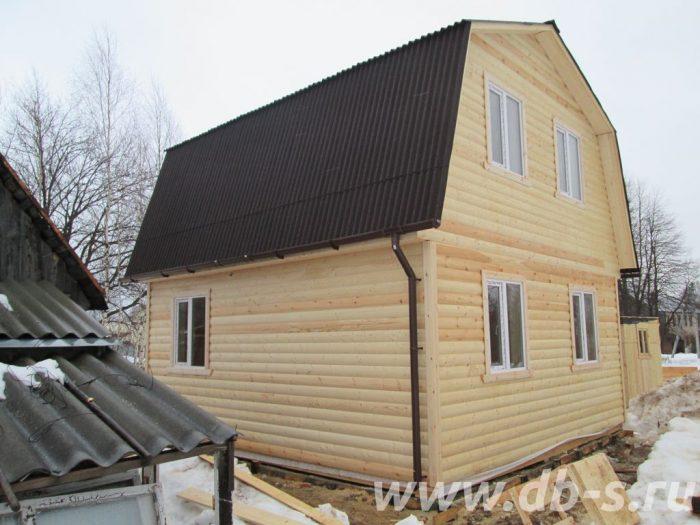 Строительство дома из бруса с мансардой 6 на 6 Иваново, Россия фото 2