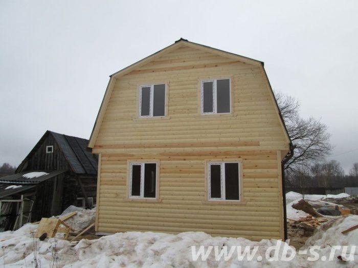 Строительство дома из бруса с мансардой 6 на 6 Иваново, Россия фото 3