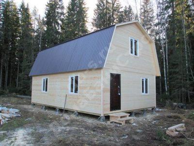 Строительство дома 6х9 г. Выборг