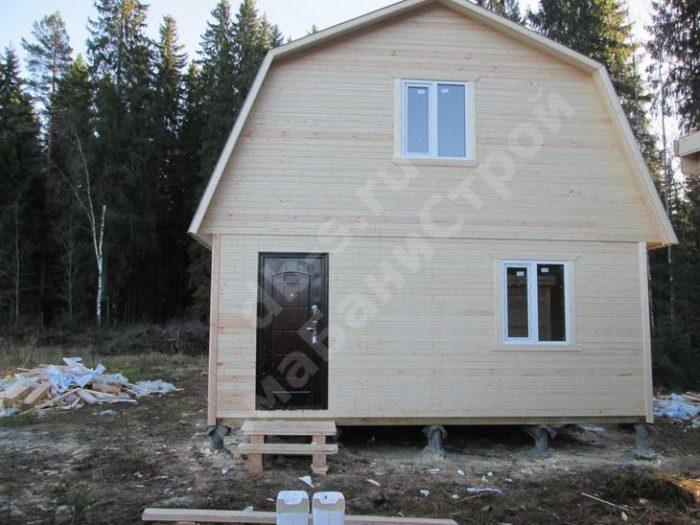 Строительство каркасного дома с мансардой 6 на 9 Выборг, Ленинградская область фото 2