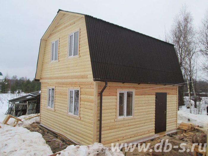Строительство дома из бруса с мансардой 6 на 6 Иваново, Россия фото 1