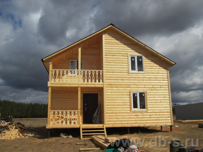 Строительство двухэтажного каркасного дома 8 на 8 Подольск, Московская область фото 1