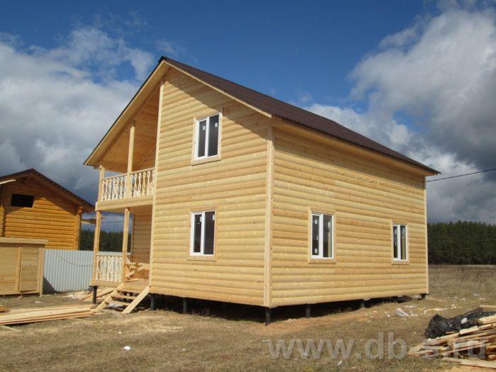 Строительство двухэтажного каркасного дома 8 на 8 Подольск, Московская область фото 2