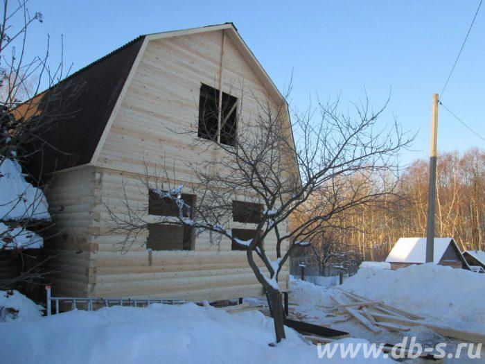 Строительство дома из бруса с мансардой 6 на 9 Владимир, Россия фото 2
