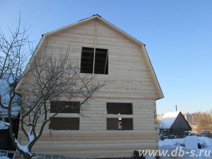 Строительство дома из бруса с мансардой 6 на 9 Владимир, Россия фото 3
