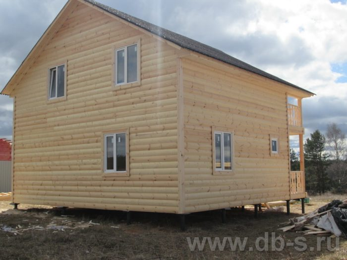 Строительство двухэтажного каркасного дома 8 на 8 Подольск, Московская область фото 3