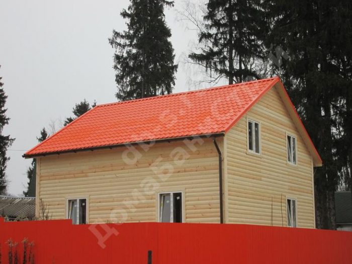 Строительство двухэтажного каркасного дома 8 на 8 Солнечногорск, Московская область фото 3