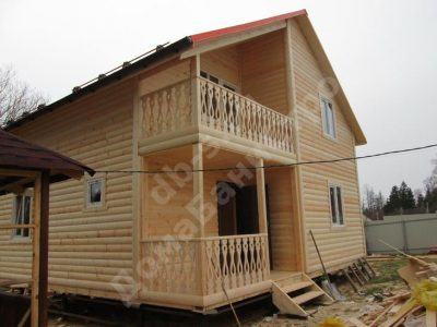 Строительство дома 8х8 Солнечногорск