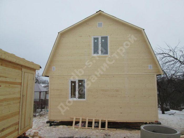 Строительство каркасного дома с мансардой 6 на 9 Заокский, Тульская область фото 3