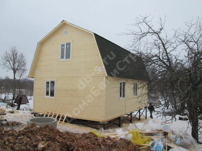 Строительство каркасного дома с мансардой 6 на 9 Заокский, Тульская область фото 4
