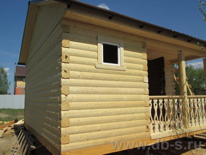 Строительство одноэтажной бани из бруса 5 на 5 Павловский Посад, Московская область фото 3