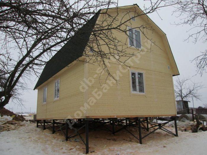 Строительство каркасного дома с мансардой 6 на 9 Заокский, Тульская область фото 5