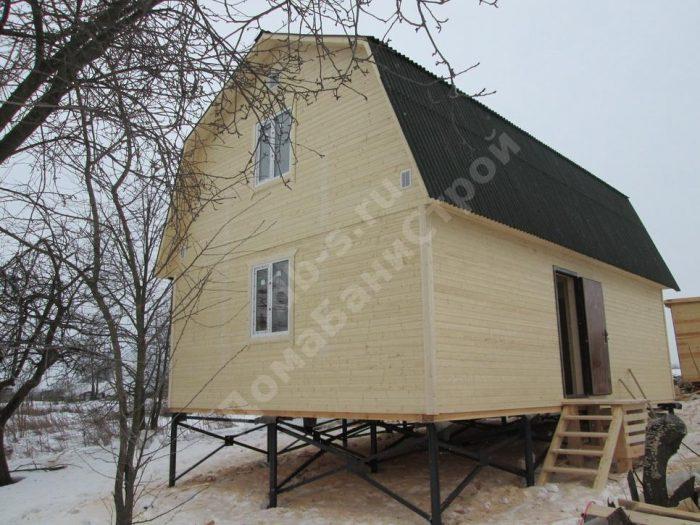 Строительство каркасного дома с мансардой 6 на 9 Заокский, Тульская область фото 1