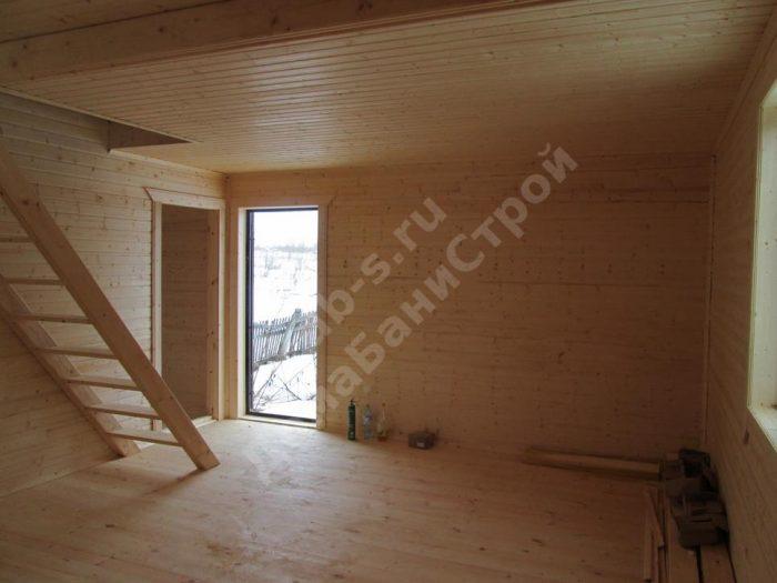 Строительство каркасного дома с мансардой 6 на 9 Заокский, Тульская область фото 6