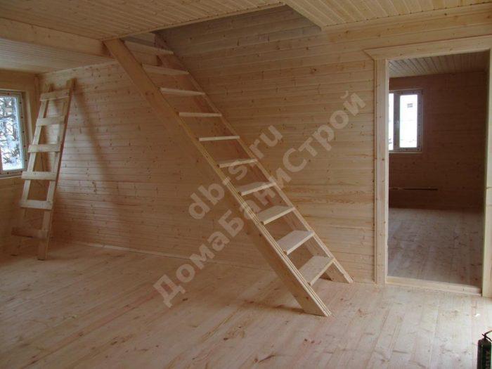 Строительство каркасного дома с мансардой 6 на 9 Заокский, Тульская область фото 7