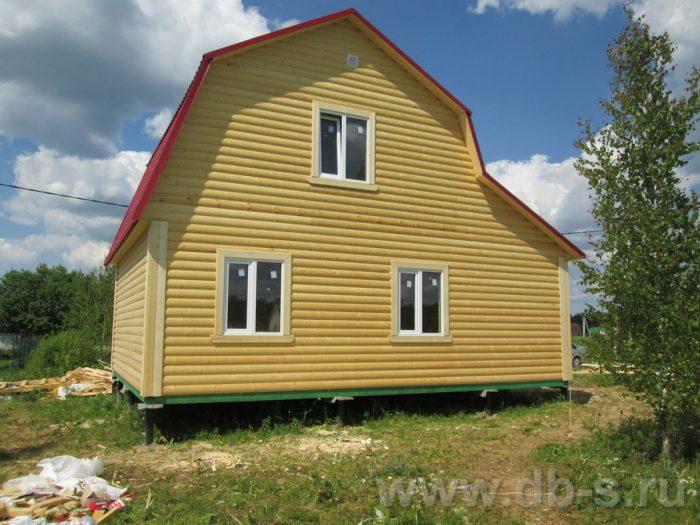 Строительство каркасного дома с мансардой 8 на 6 Кировск, Ленинградская область фото 3