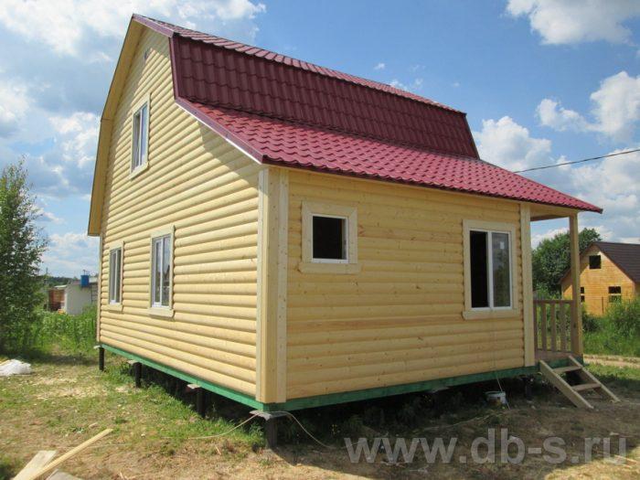 Строительство каркасного дома с мансардой 8 на 6 Кировск, Ленинградская область фото 2