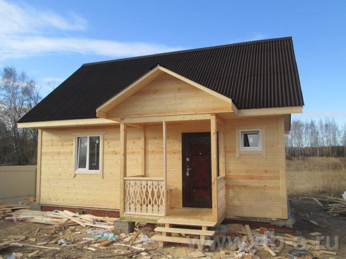 Строительство каркасного дома с мансардой 6 на 8 Спас-Клепики, Рязанская область фото 1