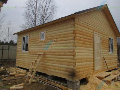 Строительство дома 6х6 г. Выборг