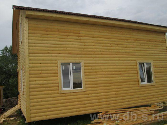 Строительство двухэтажного каркасного дома 8 на 8 Великий Новгород, Россия фото 3