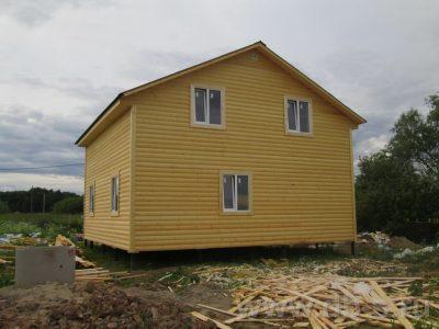 Строительство дома 8х8 г. Великий Новгород