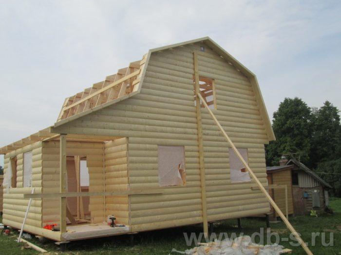 Строительство каркасного дома с мансардой 8 на 6 д. Толмачево, Калужская область фото 3