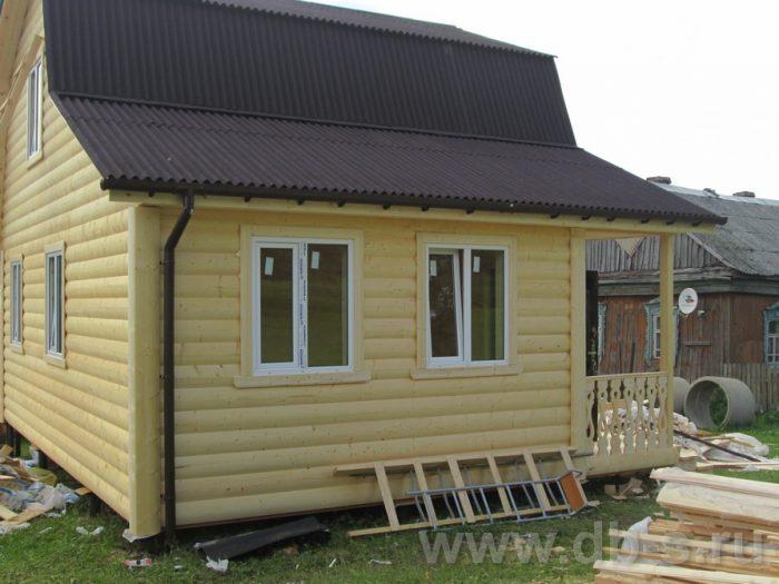Строительство каркасного дома с мансардой 8 на 6 д. Толмачево, Калужская область фото 2