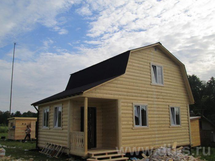 Строительство каркасного дома с мансардой 8 на 6 д. Толмачево, Калужская область фото 1