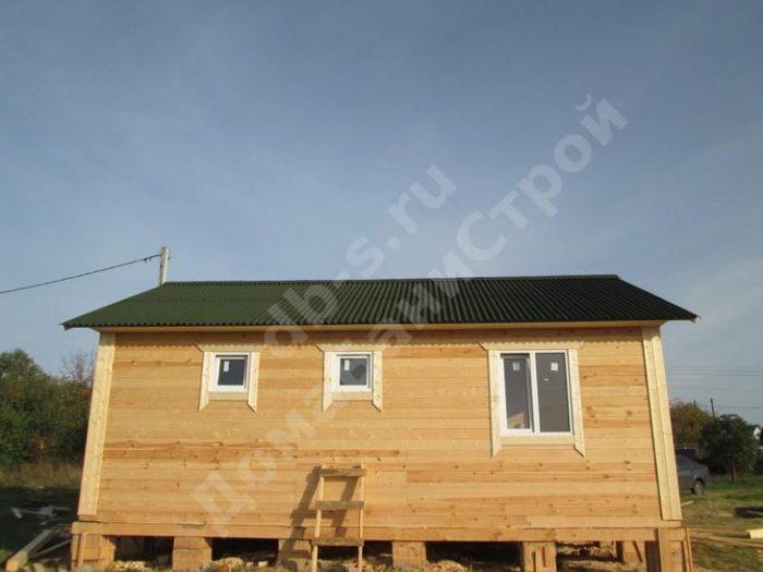 Строительство одноэтажного дома из бруса 6 на 8 Орел, Россия фото 3