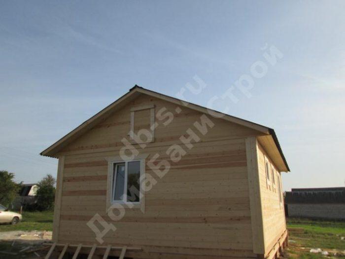 Строительство одноэтажного дома из бруса 6 на 8 Орел, Россия фото 2