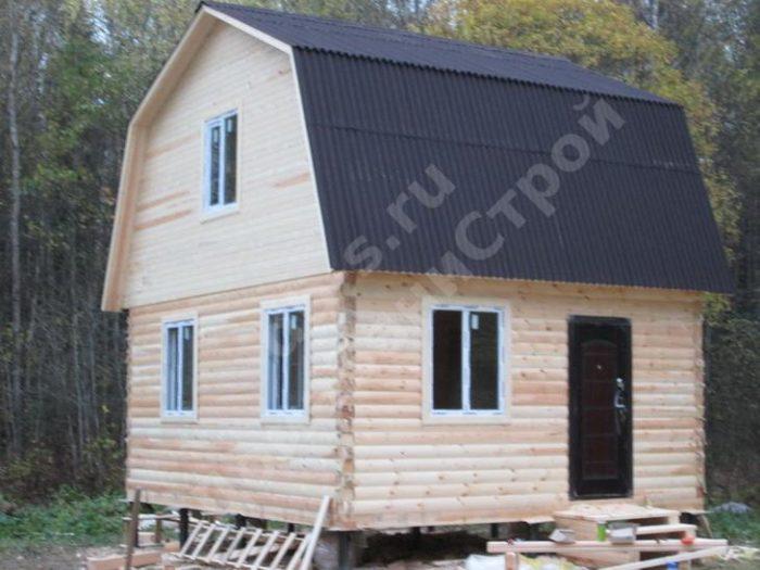 Строительство дома из бруса с мансардой 6 на 5 Жуков, Калужская область, фото 3