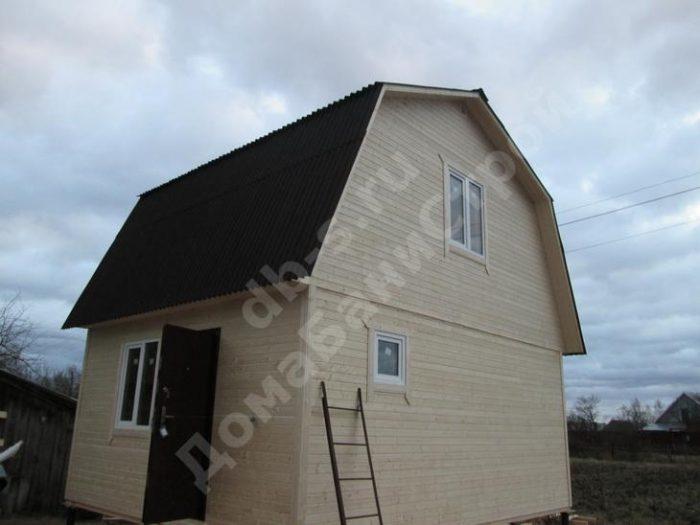 Строительство каркасного дома с мансардой 6 на 5 Барятино, Калужская область фото 3