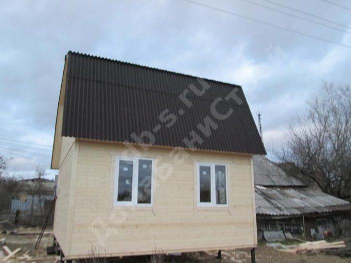 Строительство каркасного дома с мансардой 6 на 5 Барятино, Калужская область фото 2