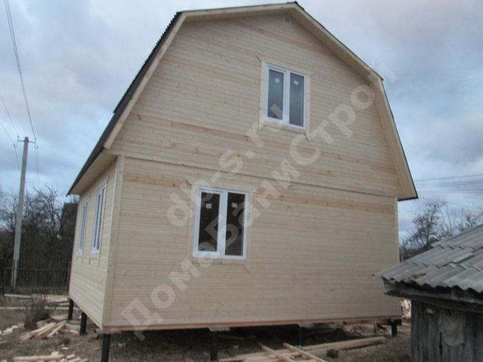 Строительство каркасного дома с мансардой 6 на 5 Барятино, Калужская область фото 1