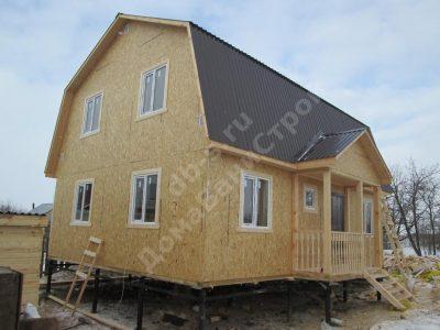 Строительство дома 7х9 г. Нижний Новгород