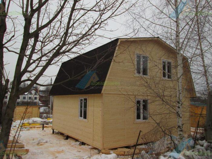 Строительство каркасного дома с мансардой 7 на 7 д. Молодцы, поселение Рязановское фото 3