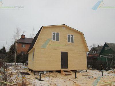 Строительство дома 7х7 д. Молодцы