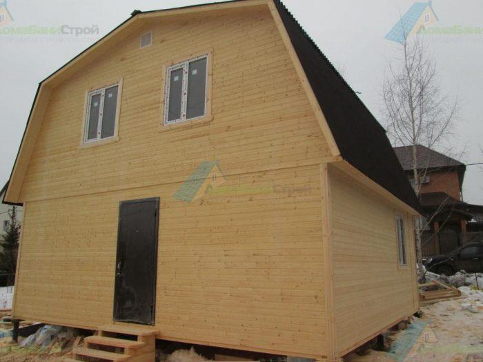 Строительство каркасного дома с мансардой 7 на 7 д. Молодцы, поселение Рязановское фото 2