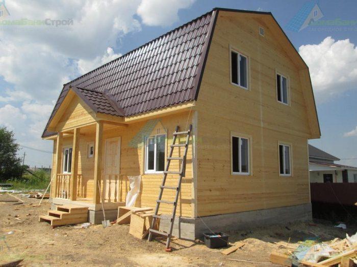 Строительство каркасного дома с мансардой 9 на 7 Воронеж, Россия фото 1