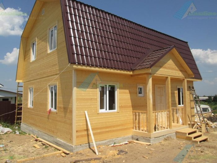 Строительство каркасного дома с мансардой 9 на 7 Воронеж, Россия фото 2