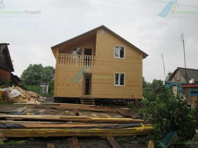 Строительство дома 8х8 г. Кимовск