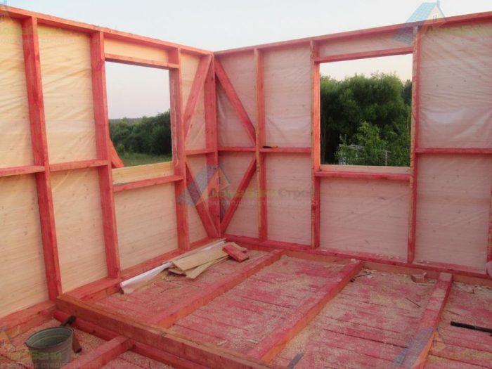 Строительство каркасного дома с мансардой 5 на 4 Собинка, Владимирская область фото 3