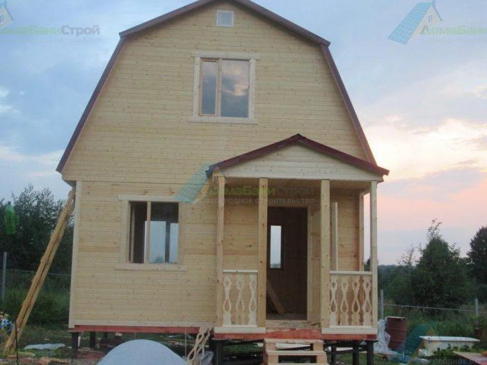 Строительство каркасного дома с мансардой 5 на 4 Собинка, Владимирская область фото 1