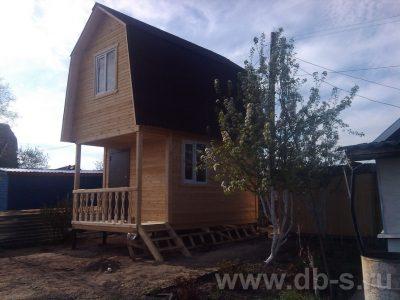 Строительство дома 5х3 д. Вербовка