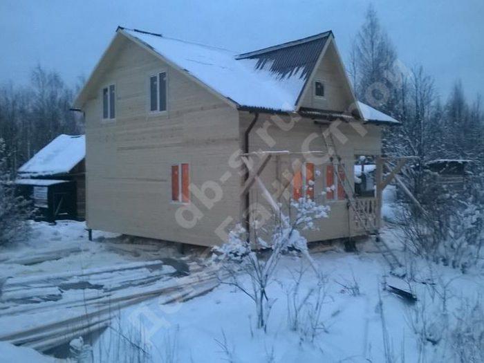 Строительство двухэтажного каркасного дома 6 на 8 Тосно, Ленинградская область, фото 3