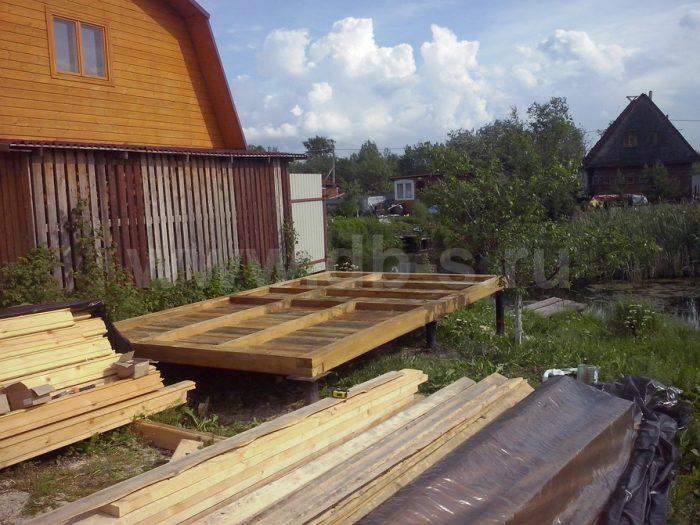 Строительство одноэтажной бани из бруса 5 на 3 Всеволожск, Ленинградская область фото 2