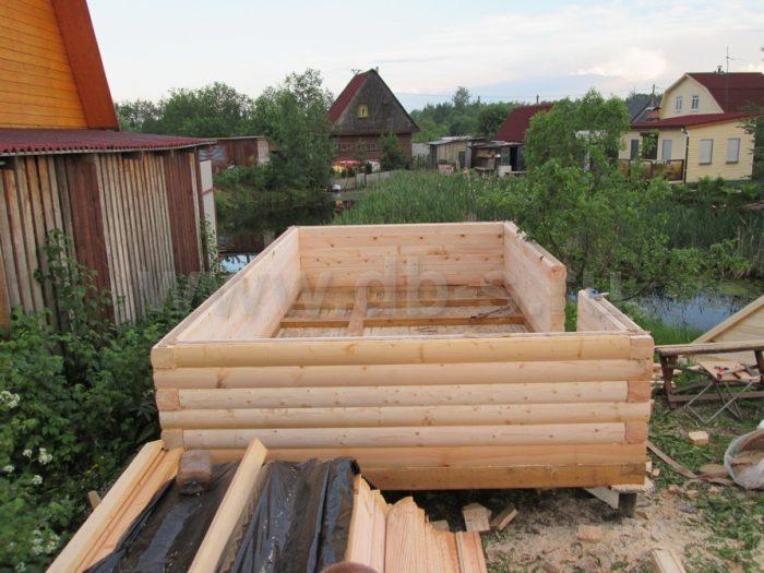 Строительство одноэтажной бани из бруса 5 на 3 Всеволожск, Ленинградская область фото 6